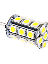 5W G4 Ampoules Maïs LED T 24 SMD 5050 370 lm Blanc Froid DC 12 V
