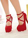 Suede Kvinnors stilett klack pumpar / Platform Heels Skor (fler färger)