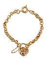BIN BIN Kvinnors 18K Guld Halsband (SL0018)