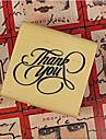 3 färger DIY Tack PatternWood Alfabetet Stamp