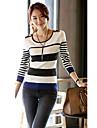 Femei Round pulover guler