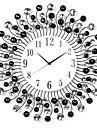 "20 ""Horloge murale en métal de style moderne"