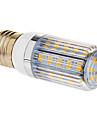 6W E26/E27 Ampoules Maïs LED T 36 SMD 5730 350 lm Blanc Chaud AC 100-240 V