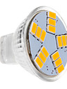 5W Spot LED MR11 15 SMD 5630 450 lm Blanc Chaud DC 12 V