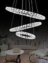 44W Hängande lampor ,  Modern Krom Särdrag for Kristall / Flush Mount Lights Metall Living Room / Dining Room