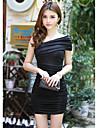 Rochie Mini Într-o Singură Culoare Atractivă