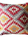 Géométrique losange décoratif taie d'oreiller