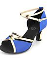 Kvinnors Satin Övre Latin / Ballroom Dance Shoes (Fler färger)