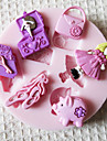 Mold Baby Doll Toy silicone Fondant Moules sucre Craft Outils chocolat moules pour gâteaux