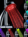 Vatten Powered färgskiftande ABS LED handdusch
