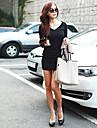Femei Slim Fit lungă Dress