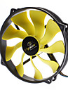 AK-FN073 14cm Antivibrations Rbber Fan Monterings fläkt för PC
