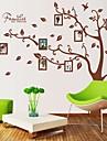 DIY Självhäftande flyttbara Väggdekal Super Stor fotoram Tree