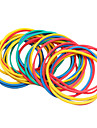 dragonhawk® 100pcs / pack färgglada elastiska gummiband