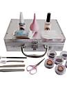 17PCS faux cils extension greffe kit de maquillage de costume dans Instruction VCD d'enseignement
