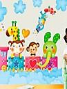 Adhésif amovible Sticker bricolage pour chambre d'enfants heureux Voyage