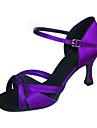 Anpassade Kvinnors Satin Dance skor för latin / Ballroom Sandals (Mer Colors)