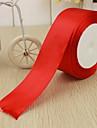 "2 ""Solid Ribbon Color Satin (Mai multe culori)"
