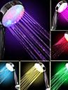 Débit d'eau pouissance Generation Couleur Changement progressif douche à main LED