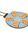 3W G4 LED-spotlights 15 SMD 5630 180-320 lm Varmvit DC 12 V