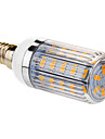 E14 - 6 Majs Glöslampor (Varmt vit 420 lm AC 220-240
