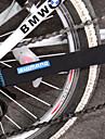 Chaîne de vélo / bicyclette / vélo Nylon Protector Pad - couleur aléatoire