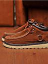 Trend Point Herrmode Varma Buckle Plush Höga skor (Brown)