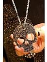 J & G Vintage Skull Shape Halsband