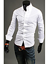 Bărbați All-Match Vintage Londra maneca lunga Shirt