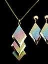 Aliaj de aur (cercei si coliere) Seturi europene Bijuterii pietre semipretioase