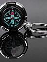 Amant personnalisé gravé Compass cadeau en forme de porte-clefs