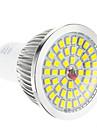 Dimmable GU10 1,5 7.5W 48x2835SMD 100-650LM 2700-3500K chaud Ampoule LED à lumière blanche Spot (220-240V)