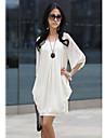 Femei libere Elegant șifon rochie mini