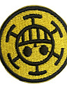 One Piece Docteur Trafalgar Law Vêtements Cosplay Coller / Patch