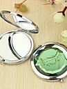 Motif personnalisé vigne cadeau Chrome miroir compact