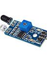 capteur de lumière LM393 module de sensibilité photosensible du capteur de lumière pour (pour Arduino) câbles dupont gratuits