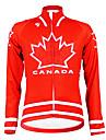 Kooplus - Canadian National Team Cycling långärmad Fleece Jersey