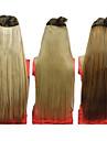 25 cm clip en extensions de cheveux synthétiques droites avec 5 Clips (Assorted 3 couleurs)
