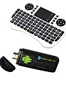 U73 Ourspop + i8 Air Mouse Dual-Core Android 4.2.2 Google TV Dongle (1 Go de RAM 8 Go ROM)