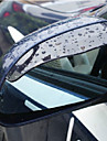 2X Bil backspegeln regnvatten Ögonbryn Cover Side Shield