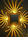 AC 85-265 3W LED Intégré Moderne/Contemporain Galvanisé Fonctionnalité pour LED Ampoule incluse, Eclairage d'ambiance Chandeliers muraux