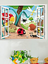 Djur Insekter Familj Nursery Kids Room Wall Sticker