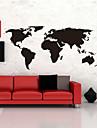 carte stickers muraux grands mondiale carte du monde atlas vinyle lavable stickers muraux