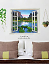 Fake Window Wall Poster, decorative Poster Wall Stickers