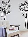 Botanique Bambou décoratif amovible Stickers muraux