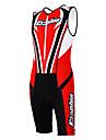 KOOPLUS® Triathlondräkt Dam / Herr / Unisex Ärmlös Cykel Andningsfunktion / Snabb tork / Fuktgenomtränglighet / Bärbar / 3D Padöverdrags