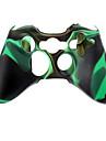 Wireless Controller silicon caz pentru Xbox360 (verde)