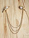 Vintage multicouches les bandeaux de la chaîne d'or de Canlyn femmes