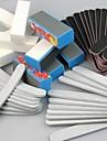 40pcs 5 Typer Nail Art Filer & Buffer Blocks (sorters blommor) Manicure Set för akryl