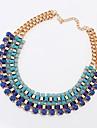 Vintage empilé de btime femmes brins collier de perles